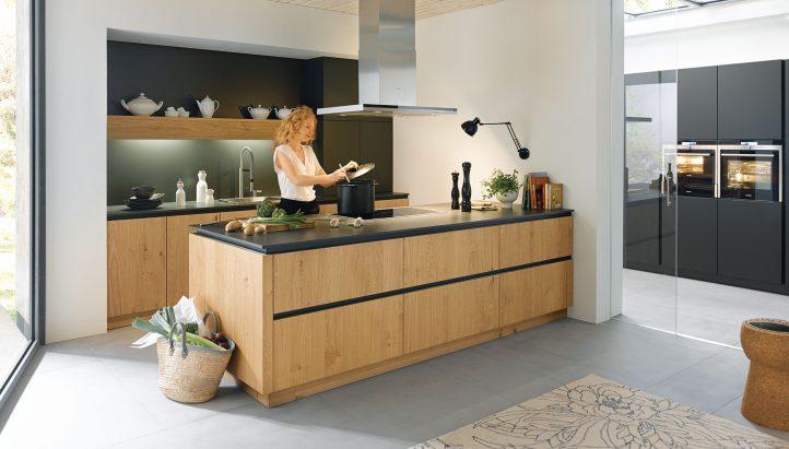 Schuller Contemporary Rocca Kitchen