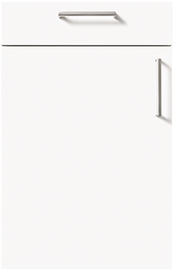 schuller door Crystal White High Gloss