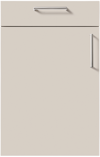 schuller door Sand Grey High Gloss