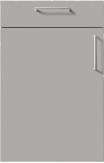 schuller door Stone Grey High Gloss