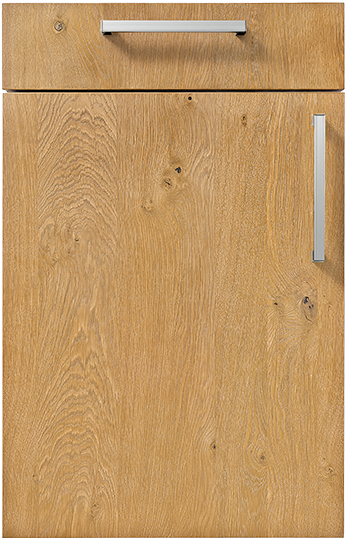 Natural Knotty Oak, Brushed