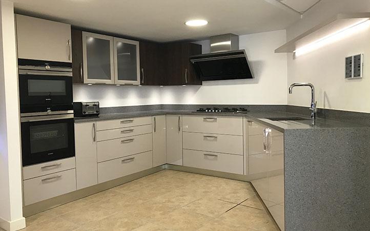 benfleet Modern kitchen showroom