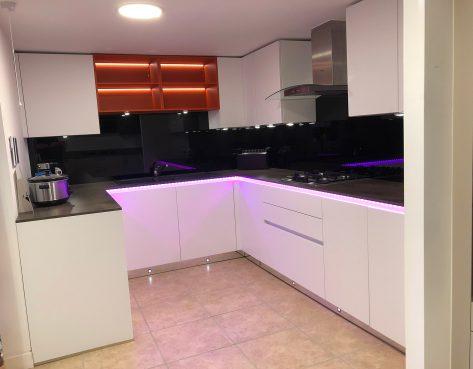 modern kitchen design in benfleet
