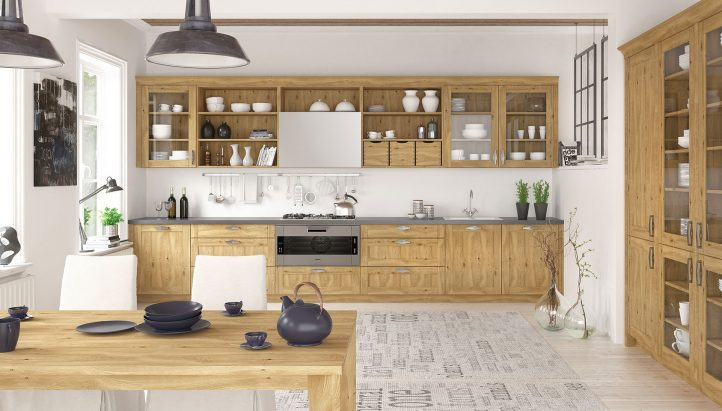 shaker kitchen design