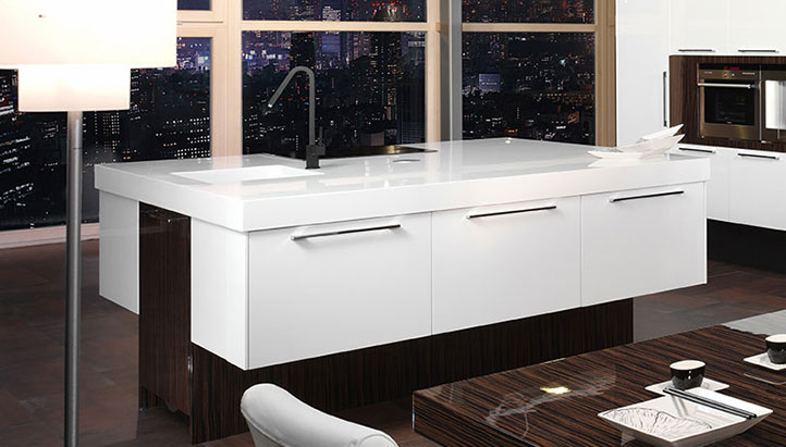 image of kitchen island