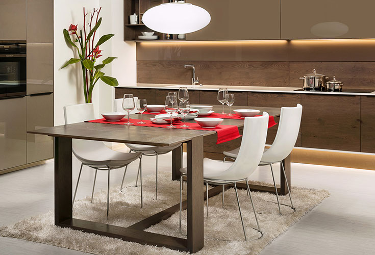 Hanak Contemporary Comfort Kitchen Table