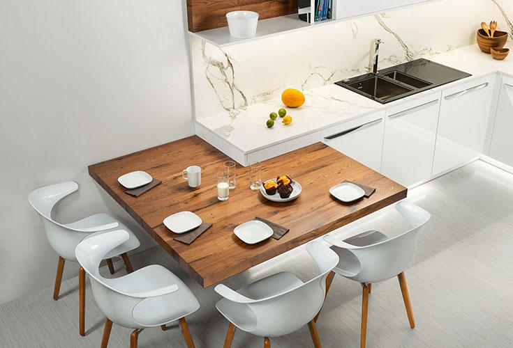 Hanak Contemporary Line Kitchen Table