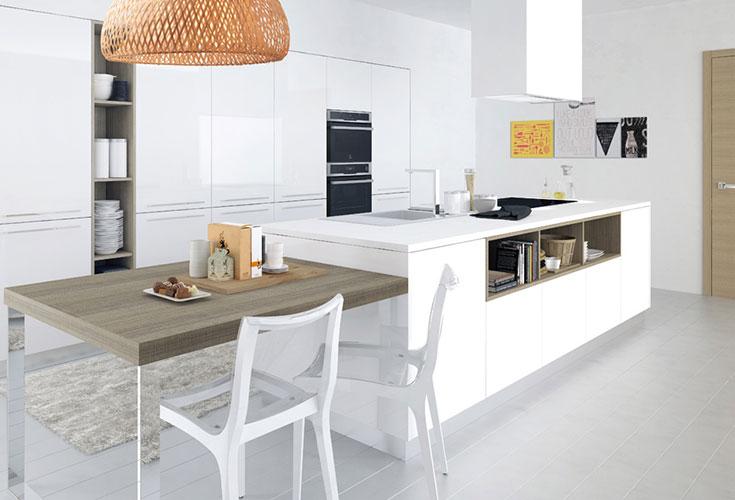 Hanak Contemporary Style Kitchen Island