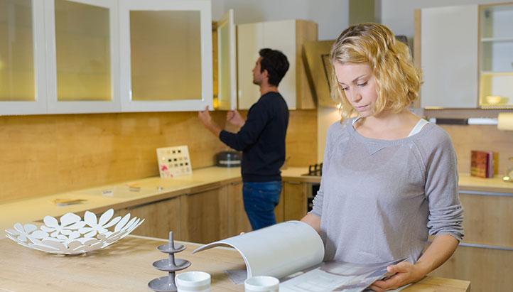 Kitchen Design Consultation Couple