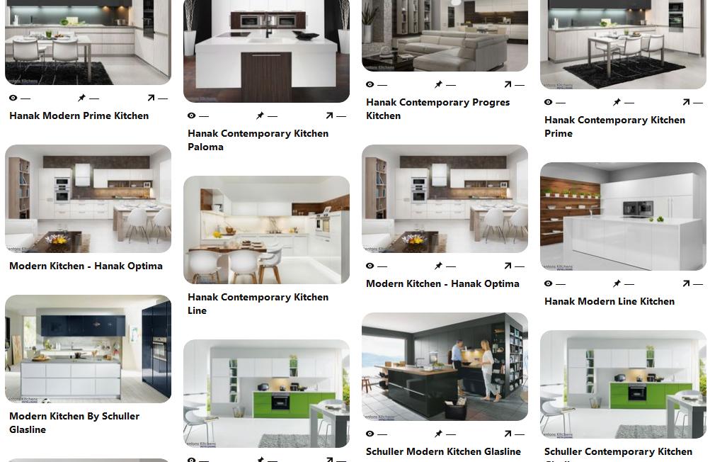Kitchens Pinterest